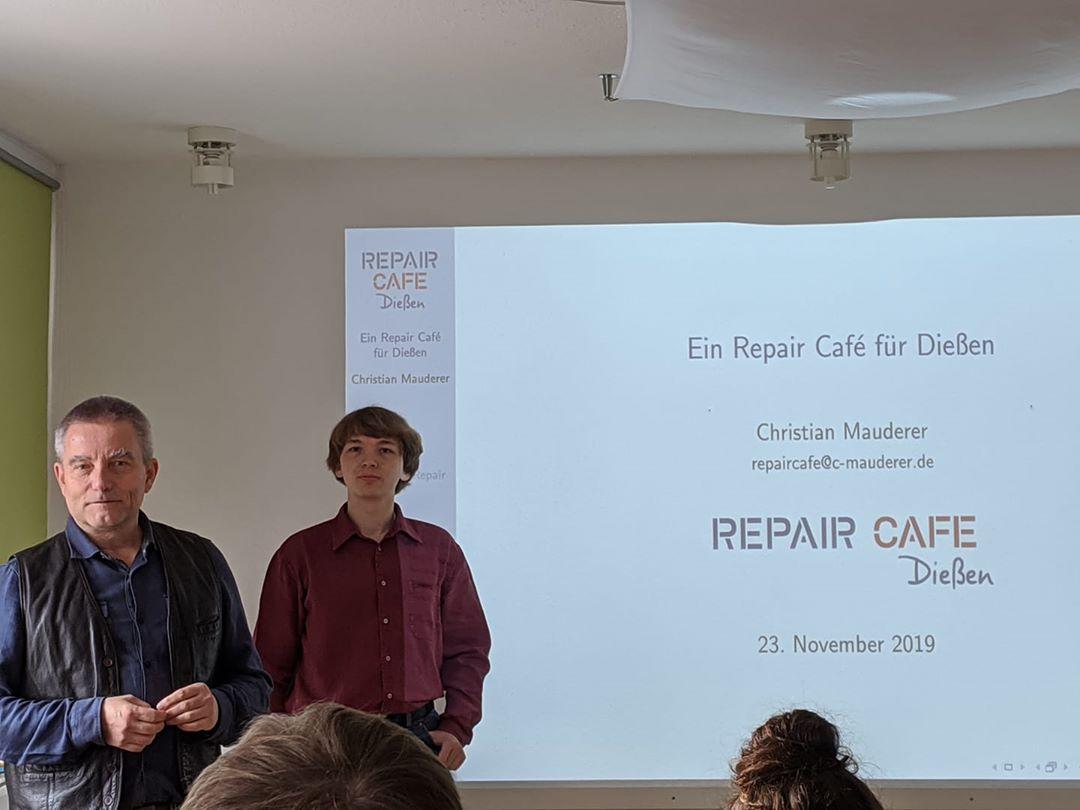 Repair Café Dießen im Denkerhaus gegründet