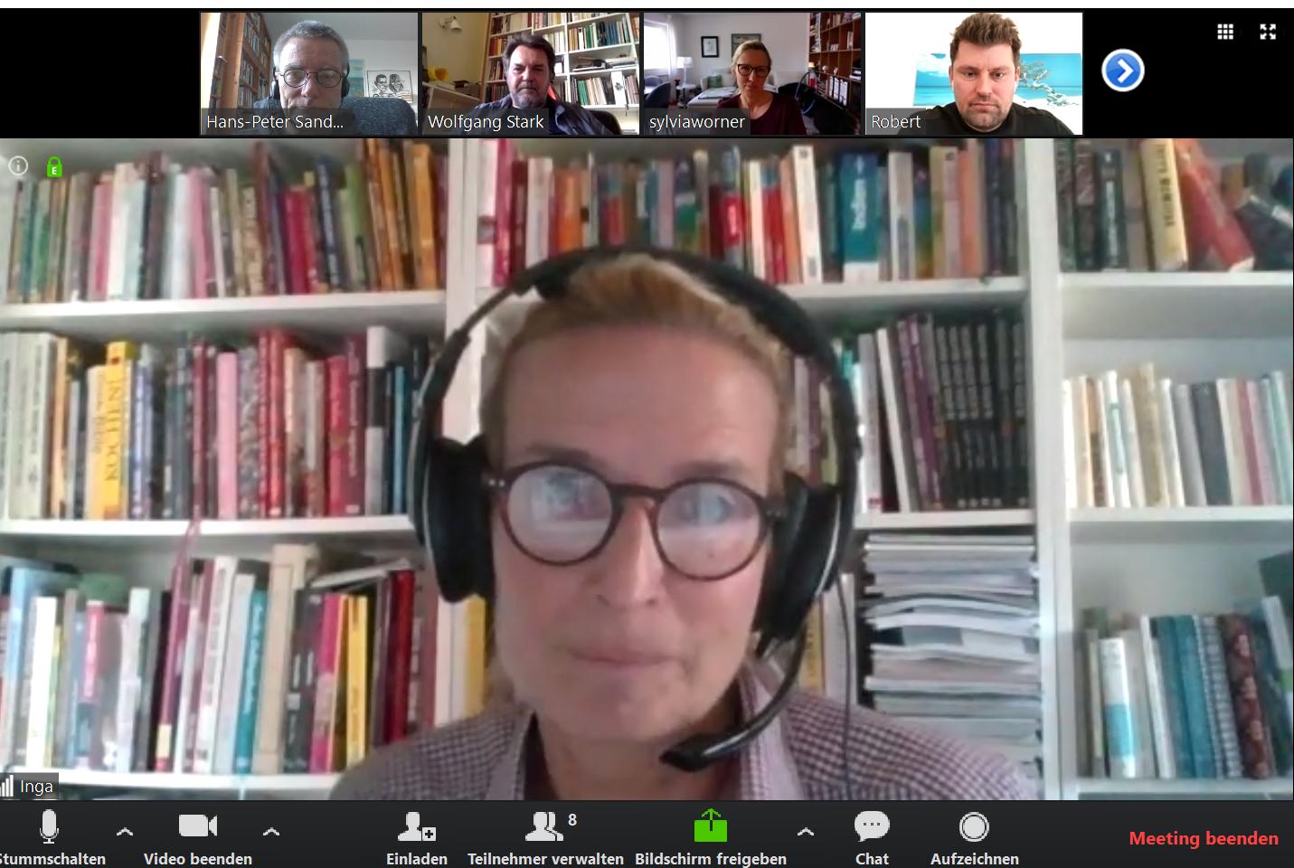 Wir coworken montags, mittwochs & freitags virtuell