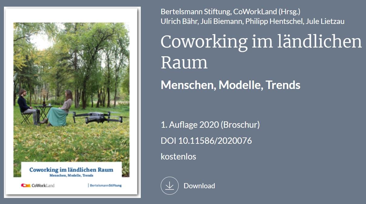 Ammersee Denkerhaus in neuer Studie von CoWorkLand und Bertelsmann-Stiftung